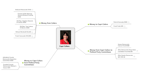 Mind Map: Capri Cafaro