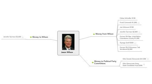 Mind Map: Jason Wilson