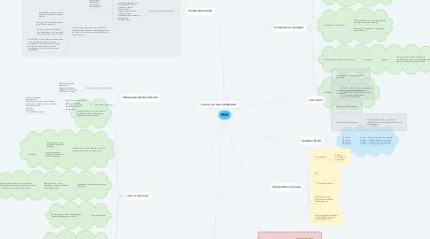 Mind Map: PDO