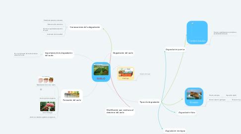 Mind Map: SUELO