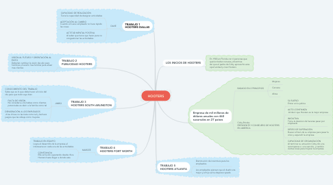 Mind Map: HOOTERS