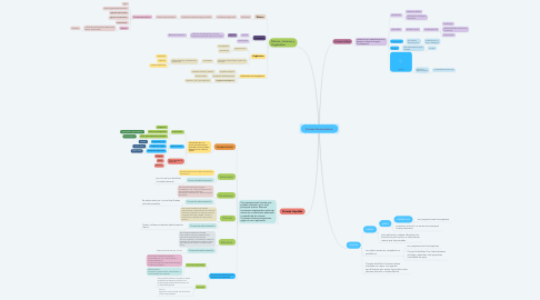 Mind Map: Formas farmaceuticas