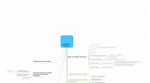 Mind Map: Gestion de la confidentialité dans un réseau social
