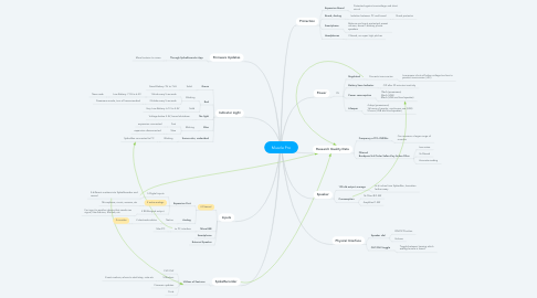 Mind Map: Muscle Pro