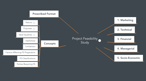 Mind Map: Project Feasibility Study