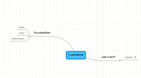 Mind Map: FLASHMOB