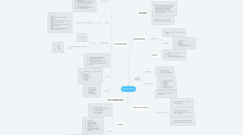 Mind Map: Especificação