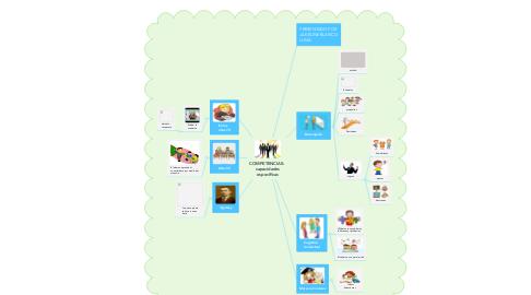 Mind Map: COMPETENCIAS:  capacidades específicas