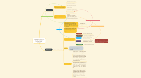 Mind Map: Treinamento sobre Plano da Área 2017-2021 - Leandro Portela - Abr 2017