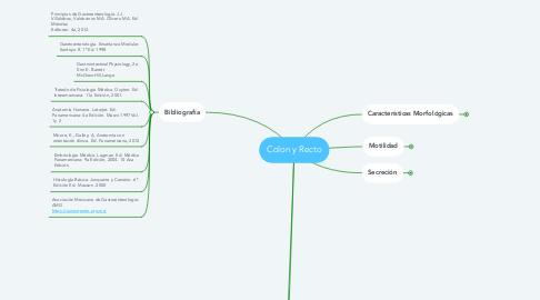 Mind Map: Colon y Recto