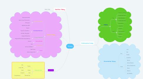 Mind Map: Tulang