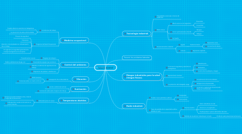 Mind Map: Salud Industrial