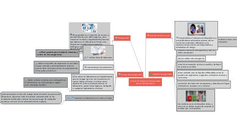 Mind Map: normas de higiene de bioseguridad dentro del laboratorio