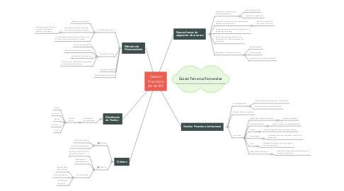 Mind Map: Gestion Financiera de las IES