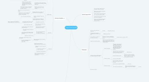 Mind Map: Projet Numérique
