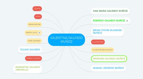 Mind Map: VALENTINA GALINDO MUÑOZ