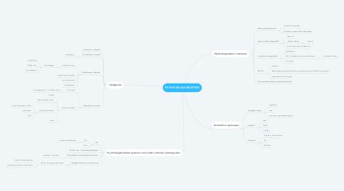 Mind Map: PSYCHODIAGNOSTIEK