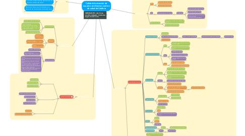 Mind Map: Calidad de atención de usuarios en diversos centros de salud de Valdivia