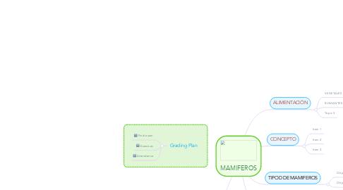 Mind Map: MAMIFEROS