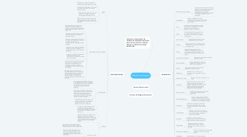 Mind Map: Gestión de Riesgos