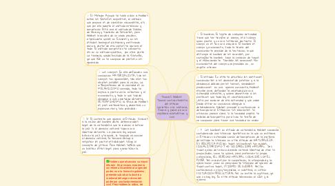 Mind Map: Thomas Hobbes  Teoría contractualista del estado  Leviatán o la materia, forma y poder de una república eclesiástica y civil.