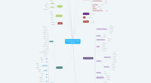 Mind Map: Organigramm der Schule Stettbach