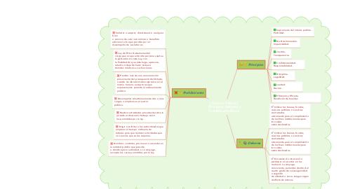 Mind Map: ( Función Pública )  Principios, Deberes y Prohibiciones Éticas.