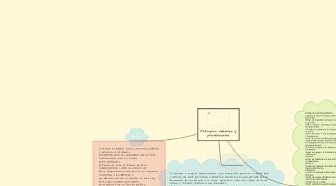 Mind Map: Principios, deberes y prohibiciones.
