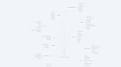 Mind Map: Briard, maatje voor het leven