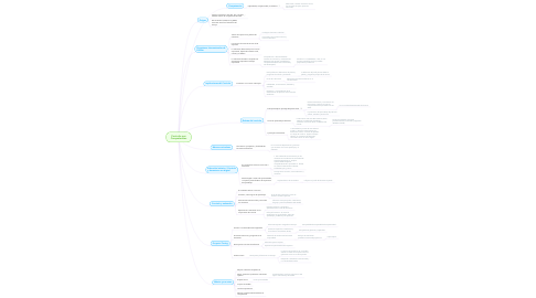Mind Map: Currículo por Competencias