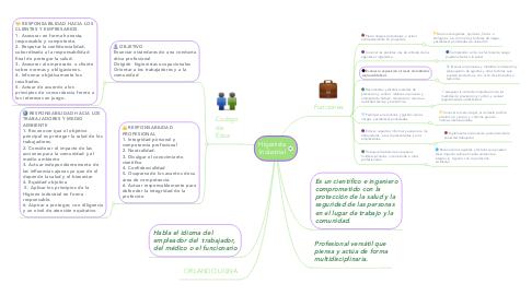 Mind Map: Higenista Industrial