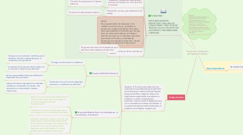 Mind Map: Funciones y Código ético del Higienista Industrial