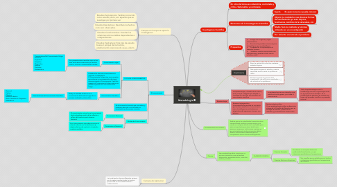 Mind Map: Metodologia