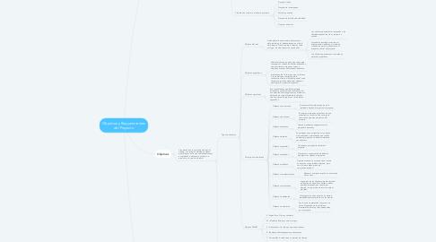 Mind Map: Objetivos y Requerimientos del Proyecto