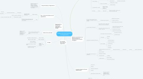 Mind Map: Sistemas de Información En La Organizacion