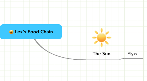 Mind Map: Lex's Food Chain