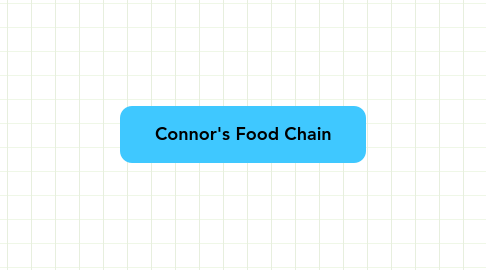 Mind Map: Connor's Food Chain