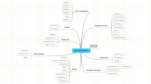 Mind Map: Mind Vocab Project