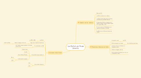 Mind Map: Conflictos de Medio Oriente.