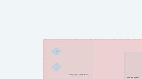 Mind Map: METİN TÜRLERİ   (Edebi Türler)