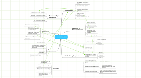 Mind Map: Learning Culture