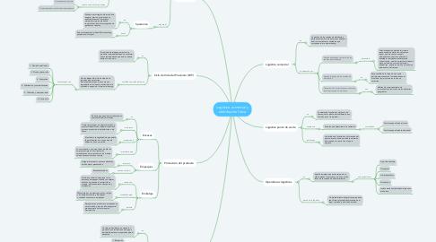 Mind Map: Logística comercial y distribución física