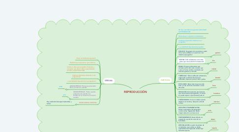 Mind Map: REPRODUCCIÓN