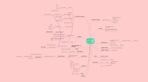 Mind Map: La course à la distinction