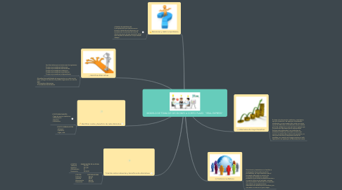"Mind Map: MODELO DE TOMA DE DECISIONES A CORTO PLAZO   ""REAL EXPRESS"""