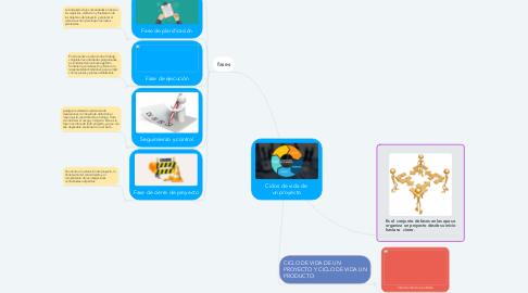 Mind Map: Ciclos de Vida de un Proyecto