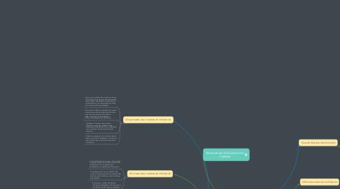 Mind Map: Sistemas de Informacion de Calidad