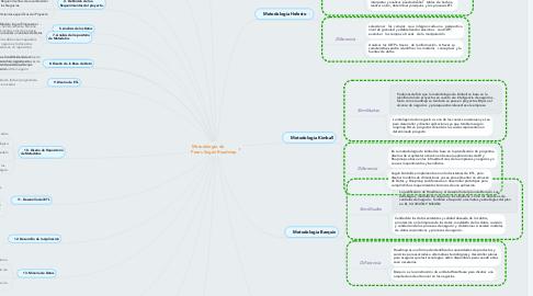 Mind Map: Metodología de          Pasos Según Roadmap