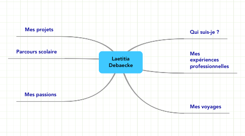 Mind Map: Laetitia Debaecke
