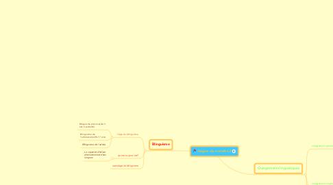 Mind Map: langue du monde L3